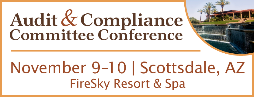 Audit & Compliance Committee Conference