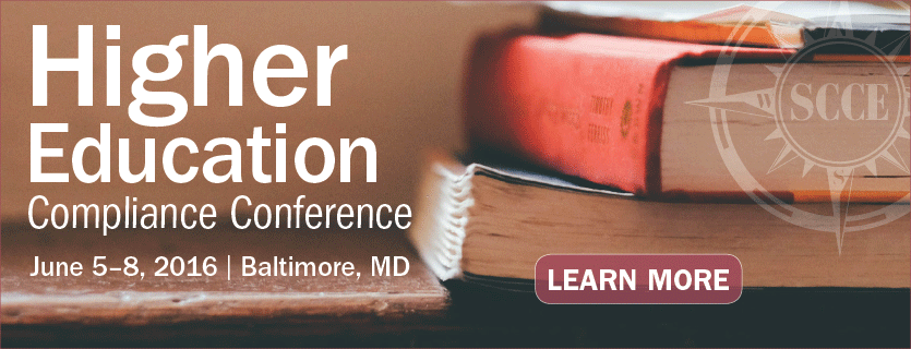 Register for the Higher Education Compliance Conference