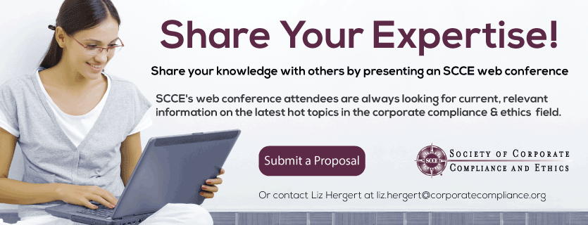 Submit your proposal to be a speaker for a web conference