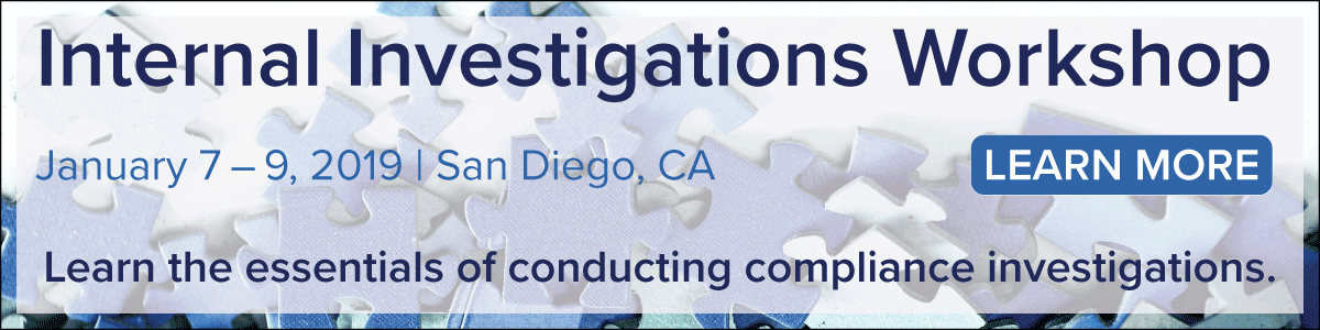 Learn more about conducting internal investigations