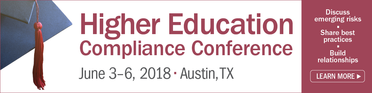 Learn more about the Higher Education Compliance Conference