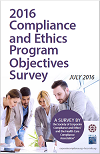 2016 Compliance and Ethics Program Objectives Survey