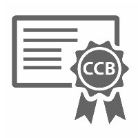 CCB certification graphic