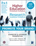 Higher education compliance conference prospectus