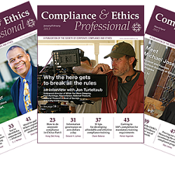 compliance and ethics professional cover