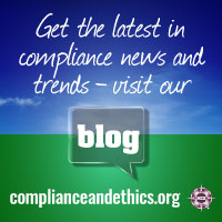 Come visit our blog at complianceandethics.org