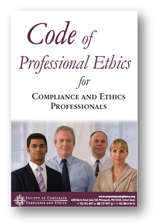 Code of Professional Ethics for Compliance and Ethics Professionals
