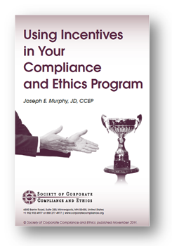 Using Incentives in Your Compliance and Ethics Program