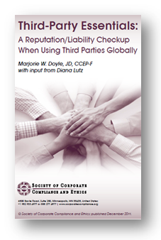 Third-Party Essentials: A Reputation/Liability Checkup When Using Third Parties Globally